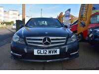 BAD CREDIT CAR FINANCE AVAILABLE 2012 12 MERCEDES C220 CDI SPORT AUTOMATIC