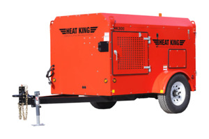 Ground Thaw and Building Heater for Rent