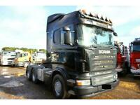 2007 57 PLATE SCANIA R-560 6X4 DOUBLE DRIVE HEAVY DUTY SPEC TRACTOR UNIT DAF MAN
