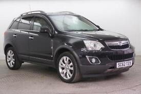 2013 Vauxhall Antara SE NAV CDTI 4WD Diesel black Automatic