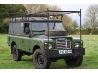 "Land Rover Series 3 109"" Expedition Vehicle"