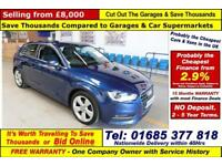 2014 - 14 - AUDI A3 SPORTS 2.0TDI 140BHP 3 DOOR HATCHBACK (GUIDE PRICE)
