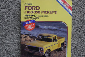 1969-1987 FORD F100-350 SHOP MANUAL
