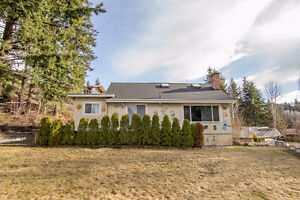Salmon Arm - 3 bdrm 2 bathroom Lakeview Home on .67 of an Acre