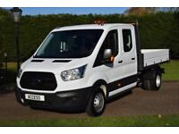 Ford Transit 2.2TDCi ( 125PS ) 350 L3H1 D/cab Tipper