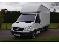 Mercedes Benz Sprinter Luton 313 cdi with a 500kg tail lift