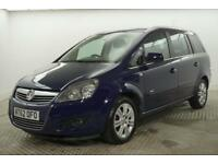 2013 Vauxhall Zafira DESIGN Petrol blue Manual