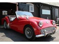 1961 TRIUMPH TR3A 4 SPEED MANUAL O/D *FAST ROAD SPEC*