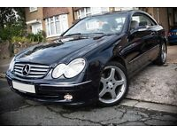 Mercedes CLK320 - 3.2 V6 - Auto/Tiptronic - Fully Loaded - FSH - AMG Alloys - Rare - W209 Facelift