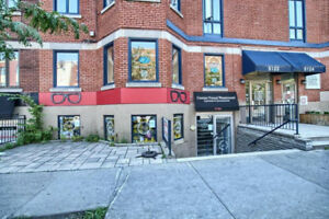 Great street level commercial space on Sherbrooke!