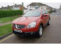 2008 Nissan Qashqai 1.5dCi Acenta DIESEL LOW MILEAGE 1 YEARS MOT CHEAP 2 INSURE