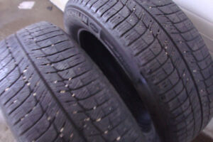 225/60R18 Michelin Xice two winter tires for sale