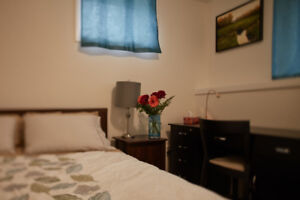 Peaceful & Private 2 Bedroom Fully Furnished Apartment