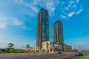 Upgraded 35th floor 1+1 bedroom unit at Expo City 2 in Vaughan