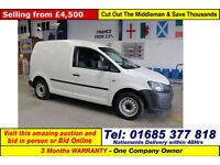 2013 - 13 - VOLKSWAGEN CADDY C20 1.6TDI 75PS VAN (GUIDE PRICE)