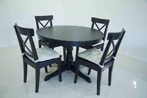 Ikea Dining Table with 4 Chairs Campbelltown Campbelltown Area Preview