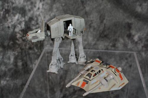 Star Wars Action Fleet AT-AT WALKER & SNOWSPEEDER With FIGURES   #1