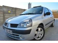 RENAULT CLIO EXPRESSION 1.4 AUTOMATIC 3 DOOR*LOW MILEAGE*12 MONTHS MOT*2 OWNERS*