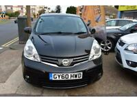 GOOD CREDIT CAR FINANCE AVAILABLE 2010 60 NISSAN NOTE 1.6 TENKA AUTOMATIC
