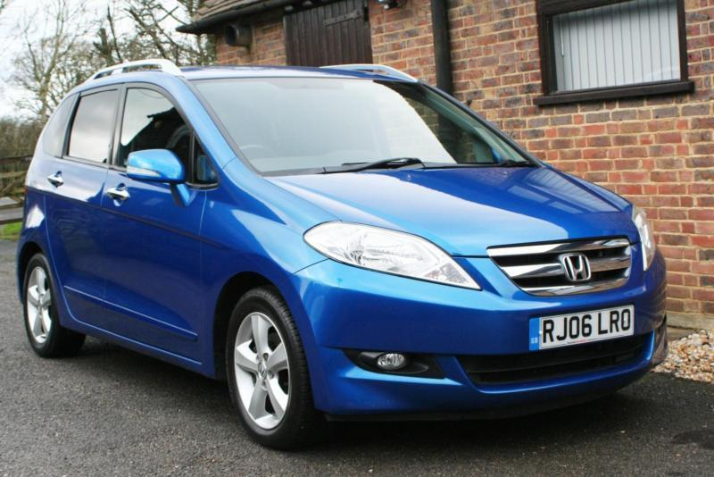 2006 honda fr v cdti sport finished in vivid blue 6 seater 3 front 3 rear in horsham west. Black Bedroom Furniture Sets. Home Design Ideas