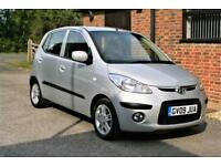 2009 HYUNDAI i10 COMFORT. 12,000 MILES FROM NEW ONE OWNER .FULL SERVICE HISTORY.