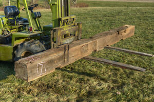 Antique Hand-Hewn Barn Beam 15 ft London Ontario image 6