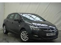 2012 Vauxhall Astra ACTIVE Petrol black Manual
