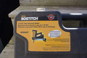 Bostitch Gas Concrete Nailer