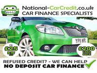 Skoda Fabia 1.4 TSI VRS DSG Good / Bad Credit Car Finance (green) 2011
