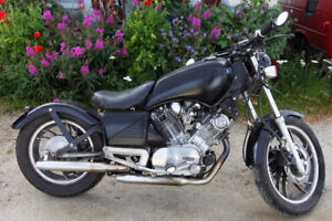 Virago 920 - customized, project bike with extras