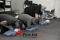 WSIB approved first aid/CPR courses!  April promo offer!  Save!