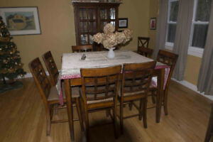 Dining Room table with 8 chairs and China Cabinet