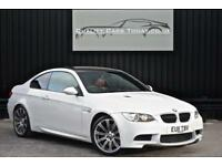 2011 BMW M3 4.0 V8 Coupe Manual * Mineral White + Fox Red + Harmon Kardon