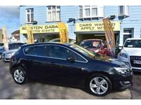 GOOD CREDIT CAR FINANCE AVAILABLE 2014 14 VAUXHALL ASTRA 1.6i SRi AUTOMATIC