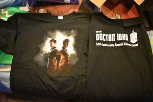Brand New Doctor Who 50th Anniversary cinematic T-shirt Size XL