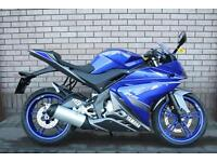 YAMAHA YZF R125 LEARNER LEGAL