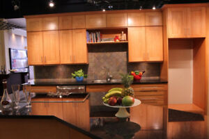 Mocha and Honey Maple cabinets 10' *10' $1649,  limited stock