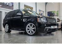 """Range Rover Sport 3.6 TDV8 HST, 08 Reg, 74k, Black, 22"""" Overfinch Alloys, Immac."""