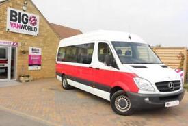 2011 MERCEDES SPRINTER 316 CDI 163 TRAVELINER LWB 15 SEAT BUS MINIBUS DIESEL
