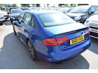 2015 Audi A4 1.8 TFSI Black Edition Plus 4dr Petrol blue Manual