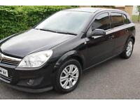 Vauxhall/Opel Astra 1.8i 16v ( 140ps ) auto 2007.5MY Design Black AUTHOMATIC 5D