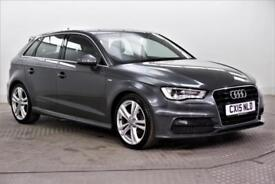 2015 Audi A3 TDI S LINE Diesel grey Manual