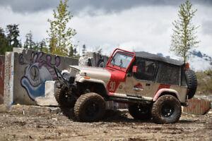 1994 Jeep YJ Wrangler, Jurassic Jeep 90