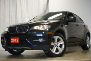 2012 BMW X6 3.5i X DRIVE NAVIGATION 360 CAMERA BLUETOOTH SUNRO