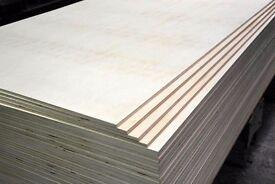 Builders grade - shuttering plywood 18MM 4x4 12.00 GBP