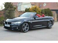 2016 BMW 4 Series 2.0 420D M SPORT 2d 188 BHP Convertible Diesel Automatic