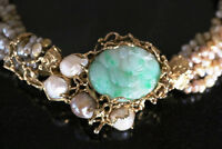 ESTATE JEWELLERY JADE WHITE & YELLOW GOLD DIAMONDS entire house