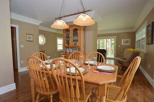 Classic Solid Oak Dining Room Suite Seats 8-12