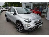 2017 Fiat 500X 1.4 MultiAir Cross Plus (s/s) 5dr Petrol grey Manual