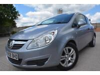 VAUXHALL CORSA BREEZE 1.0 12V 3 DOOR*1 LADY OWNER*FULL SERVICE HISTORY*LONG MOT*